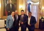 El Pacha se reúne otra vez con Danilo Medina